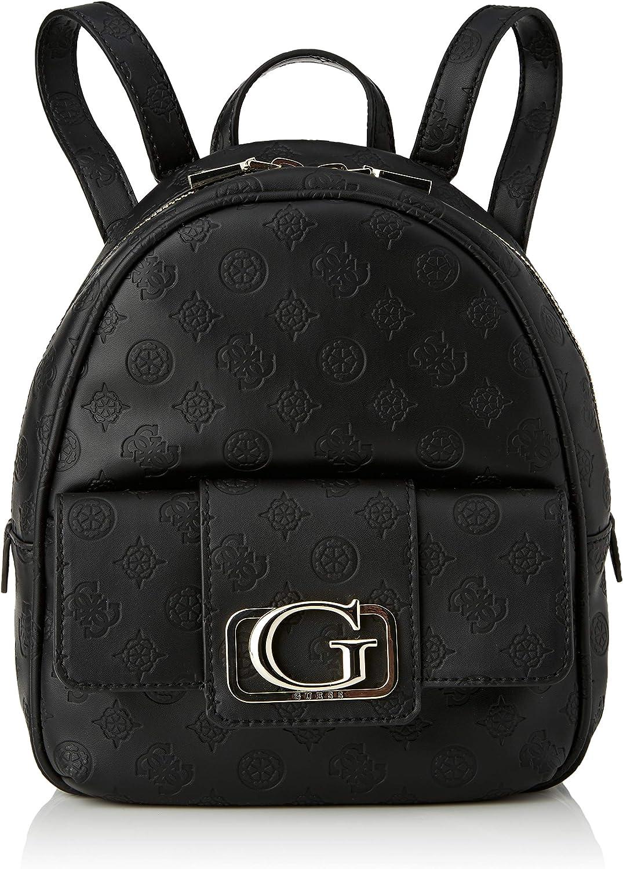 Amazon.com: GUESS Women's Satchels, Black, 23x27x10 cm: Clothing
