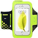 Mpow Fascia Sportiva da Braccio Sweatproof Bracciale per Corsa & Esercizi con Supporto Chiave e Riflettente Armband per iPhone 6, 6S, Samsung Galaxy S6