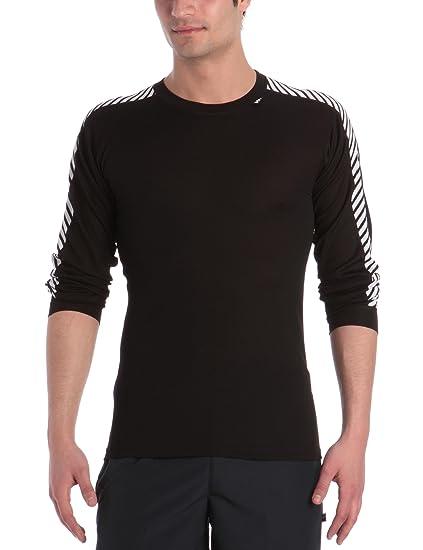 49674ea6d8 Amazon.com: Helly Hansen Men's Lifa Stripe Crew Baselayer Top: Clothing