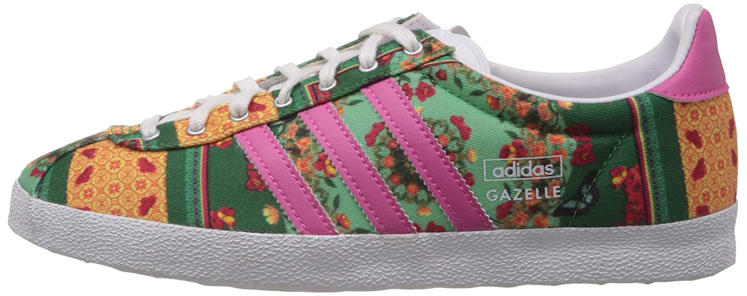 pick up 46d7a 96368 adidas Originals Womens Gazelle Og Wc Farm W Pink and Multi Sneakers - 8  Uk Buy Online at Low Prices in India - Amazon.in