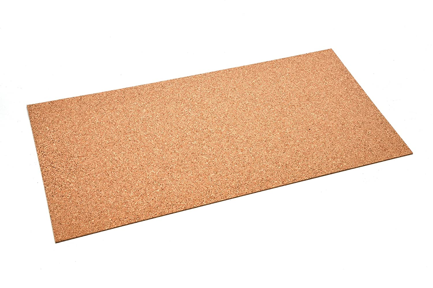 Pin Board Cork Sheet 50 x 100 cm 2 mm Thick High-Quality Cork Sheet Flexible and Antistatic acerto