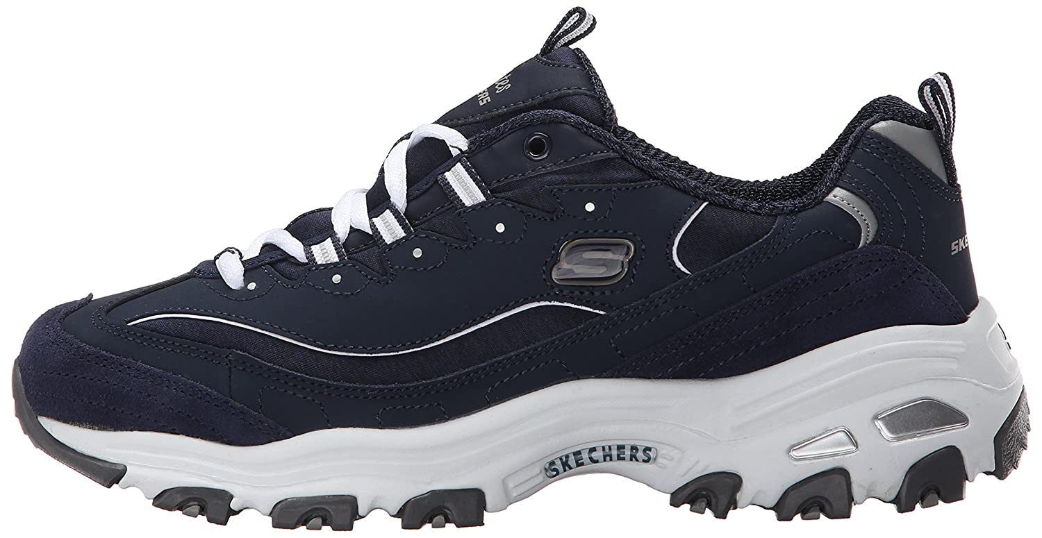Skechers-D-039-Lites-Women-039-s-Casual-Lightweight-Fashion-Sneakers-Athletic-Shoes thumbnail 133