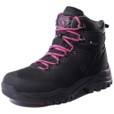 904080cbed2 CAMEL CROWN Women s Waterproof Hiking Boots Outdoor Lightweight Work Safety  Boots