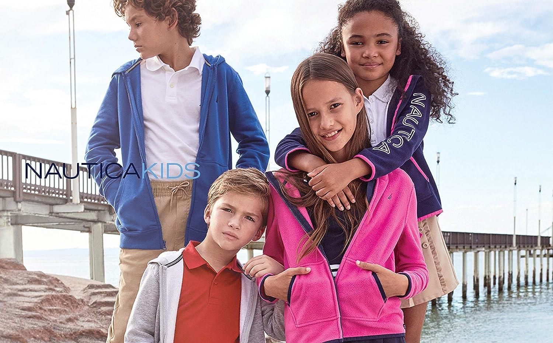Nautica Girls School Uniform Full-Zip Fleece Hoodie