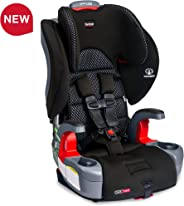 Britax Grow with You ClickTight Harness-2-Booster Car Seat - 2 Layer Impact Protection - 25 to 120 Pounds, Cool Flow Gray [N