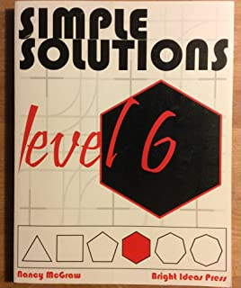 Simple solutions minutes a day mastery for a lifetime level 4 simple solutions level 6 math fandeluxe Images