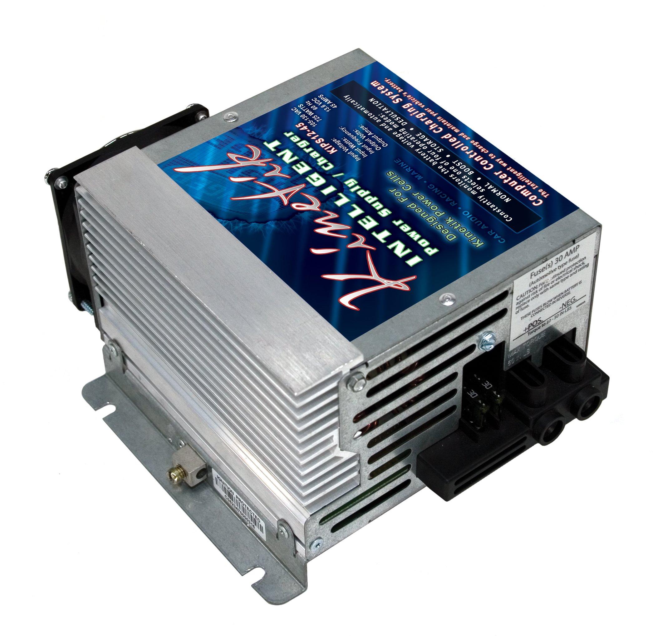 Kinetik KIPS12-45 45A 12V Intelligent Power Supply