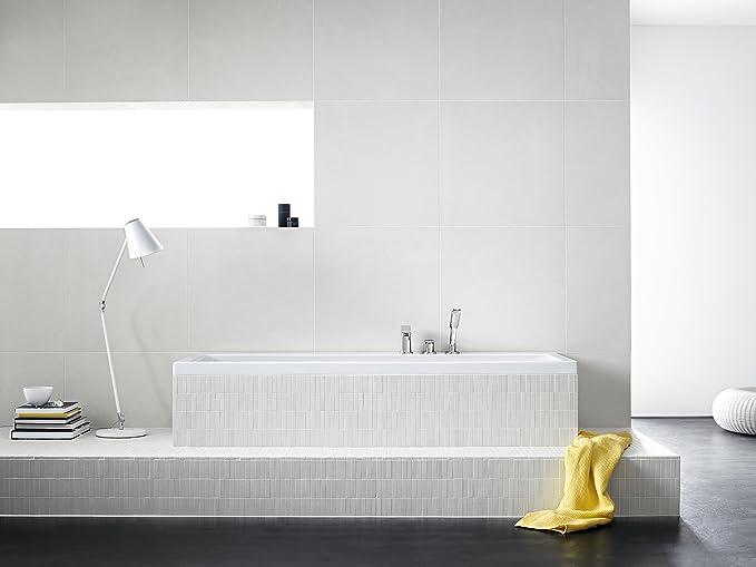 Hansgrohe 31190000 Metris grifería de 3 agujeros para borde de bañera, cromo: Amazon.es: Bricolaje y herramientas