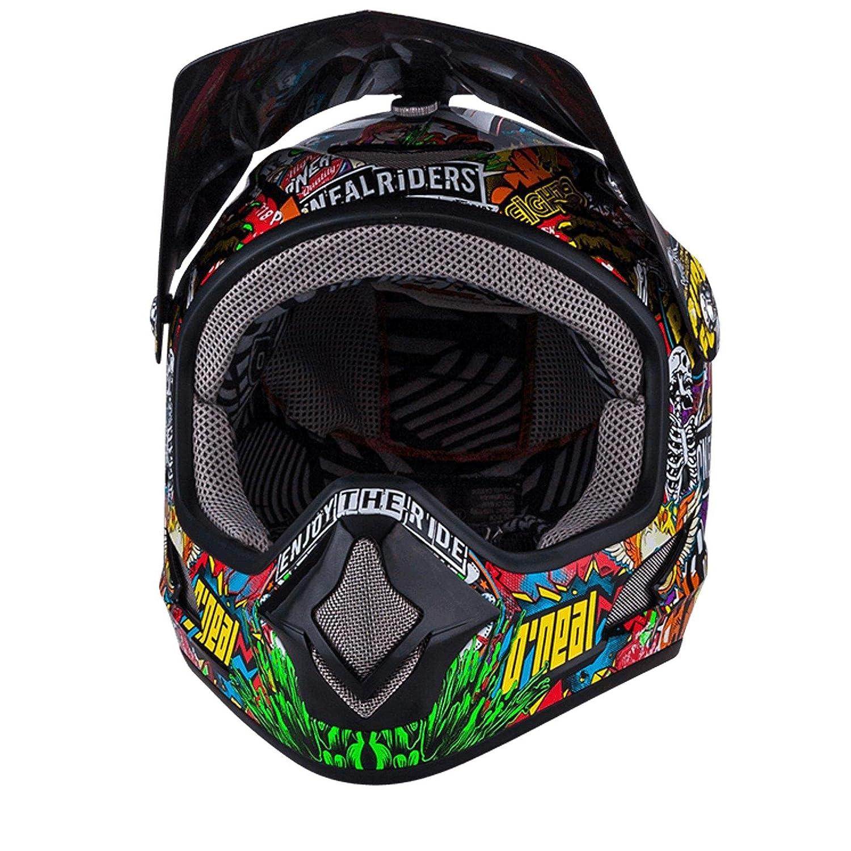 O Neal EVO CRANK Backflip Fidlock DH Kinder Helm Downhill Mountainbike Fullface Helm Magnetverschl 0500KC 1 Amazon Sport & Freizeit