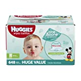 Amazon Price History for:HUGGIES One & Done Refreshing Baby Wipes, Refill, 648 Count