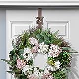 Adjustable Length Wreath Hanger with