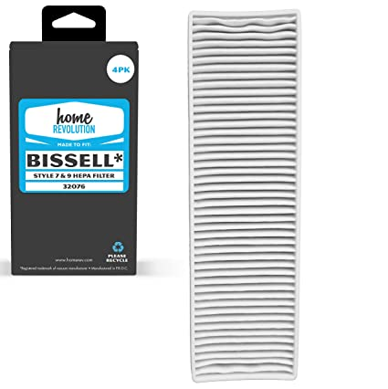 Amazon Com Home Revolution 4 Replacement Hepa Filter Fits Bissell