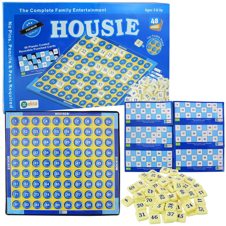 Ekta Housie Deluxe Board Game Family Game Multi Color Buy Online In Qatar At Qatar Desertcart Com Productid 64736356