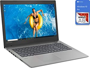 "Lenovo Ideapad 330 Laptop, 15.6"" HD Display, AMD A6-9225 Upto 3.0GHz, 8GB RAM, 512GB SSD, UK Keyboard, DVDRW, HDMI, Card Reader, Wi-Fi, Bluetooth, Windows 10 Pro"