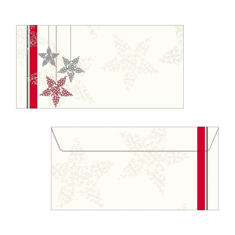 Sigel DP020 Carta a tema natalizio / da lettere natale, Christmas Diamond, A4, 90 g, 25 fg.