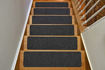 Amazon.com: Stair Treads Collection Indoor Skid Slip Resistant ...