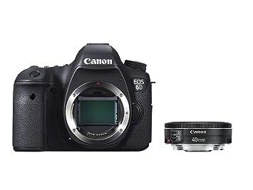 """Canon EOS 6D - Cámara réflex digital de 20.2 Mp (pantalla 3.2"""", vídeo"""