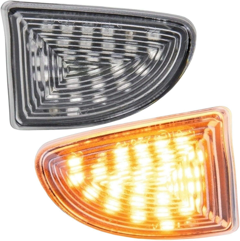 Phil Trade Led Seitenblinker Kompatibel Für Fortwo A451 C451 Cabrio Coupe Klarglas 7232 Auto