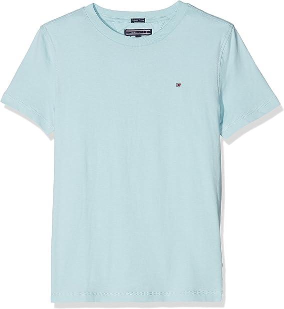 Tommy Hilfiger Ame Original Camiseta, Azul (Stratosphere 412), 110 (Talla del Fabricante: 5) para Niños: Amazon.es: Ropa y accesorios