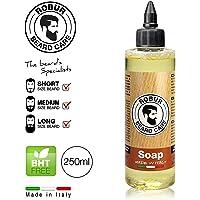 Detergente per la barba per l'igiene quotidiana di barba e baffi. Effetto districante. Formulazione delicatissima. 250 ml. Sapone liquido.