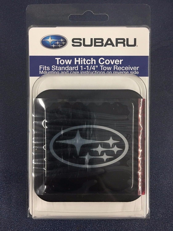 Logo 1 Pack Subaru SOA342L154 Trailer Hitch Receiver Tuber Cover