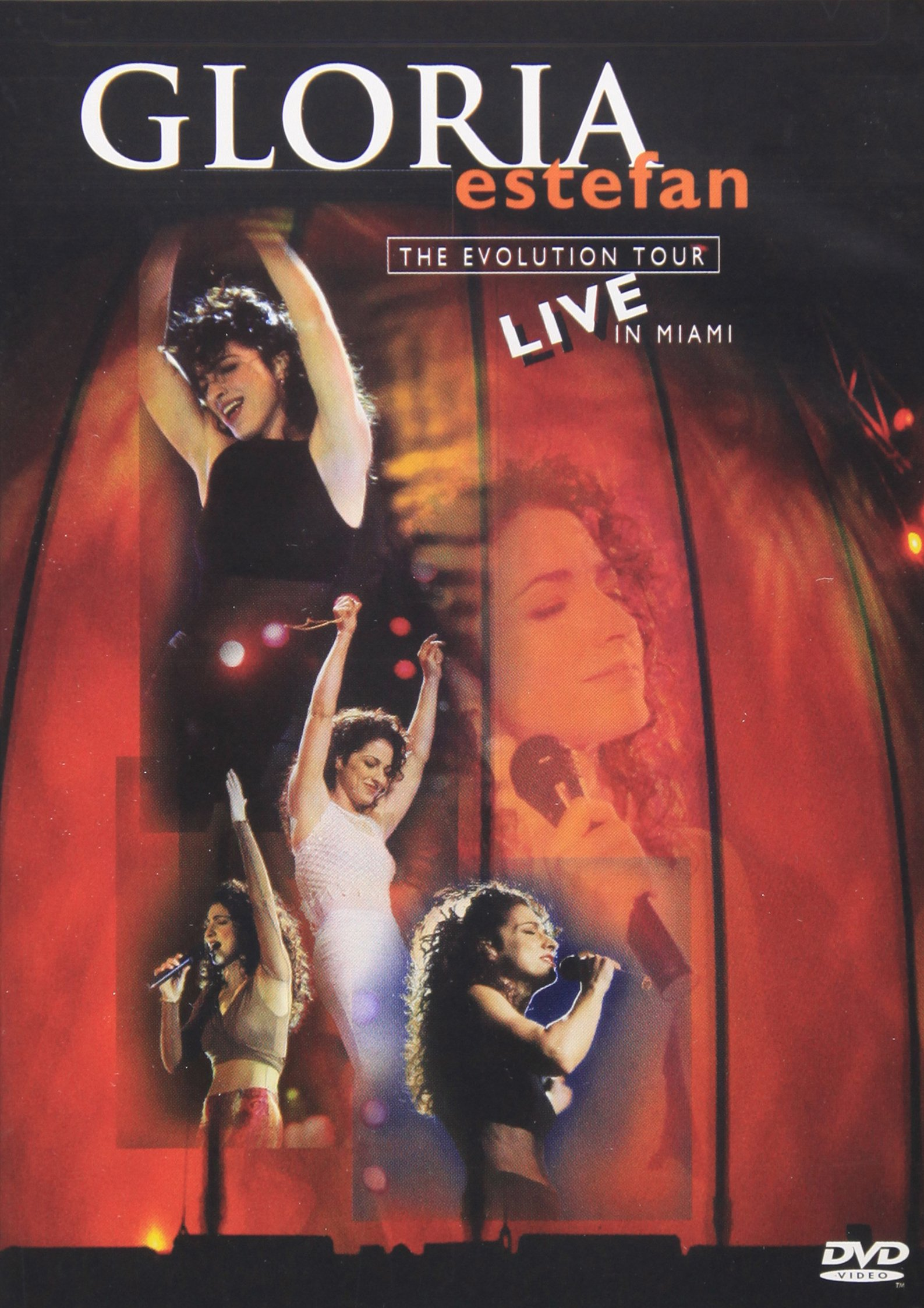 DVD : Gloria Estefan - Evolution Tour Live In Miami (DVD)