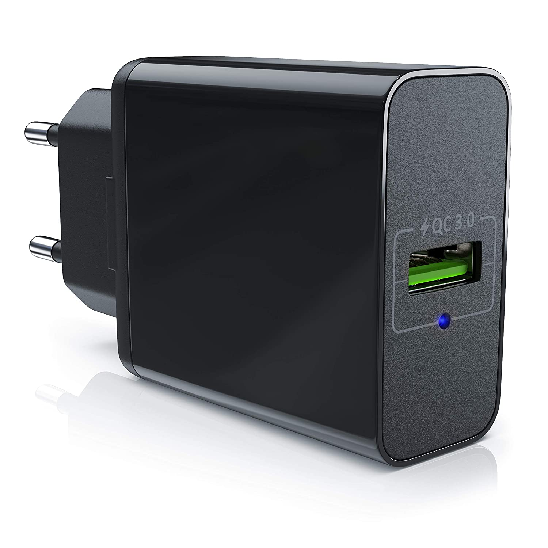 aplic – Cargador USB con función de Carga rápida Quick Charge | Fuente de alimentación Quick Cahrge 3.0 | Carga Inteligente Smart Charge + Solid ...