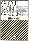 Canson Calque Satin 200757202 Papier calque A3 29,7 x 42 cm Translucide