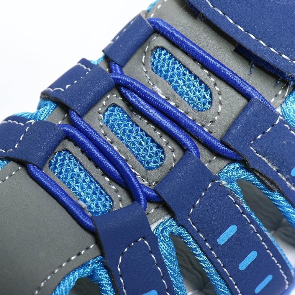 Kinderschuhe Jungen M/ädchen Geschlossene Sandalen mit Klettverschluss Weiche Babyschuhe Freizeit Mode Sommer PU Anti-Rutsch Outdoor Sport Trekking Schuhe Wander Sneaker Hausschuhe f/ür 1-9 Jahre Alt