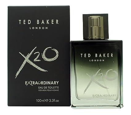 Extraordinaria colonia para hombre X2O de Ted Baker, 100 ml