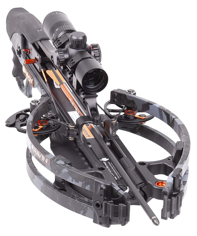 Amazon.com: RAVIN R26 Predator Dusk Grey Crossbow 400 FPS ...