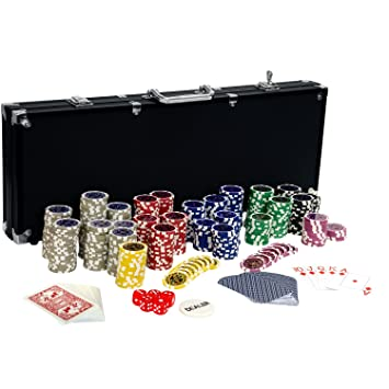 Ultimate black edition poker set card counting machine blackjack