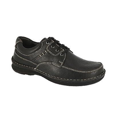 494841f0ab2 Chaussure Homme Confort Grande Taille Cuir Noir (42 EU)  Amazon.fr ...