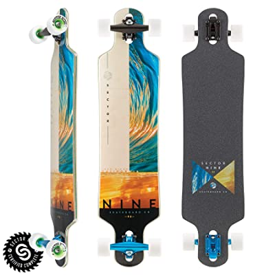 "Sector 9 Longboard Complete Balance Bintang 9.25"" x 38"" : Sports & Outdoors"