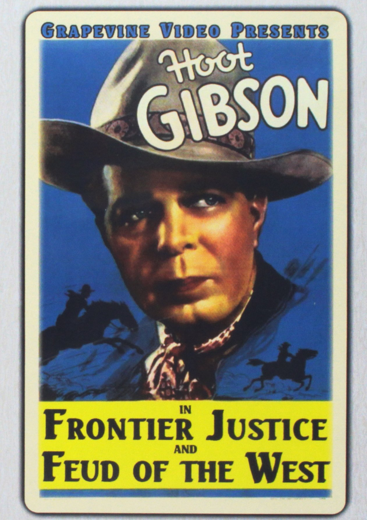 DVD : Frontier Justice (1936) / Feud Of The West (1936) (DVD)