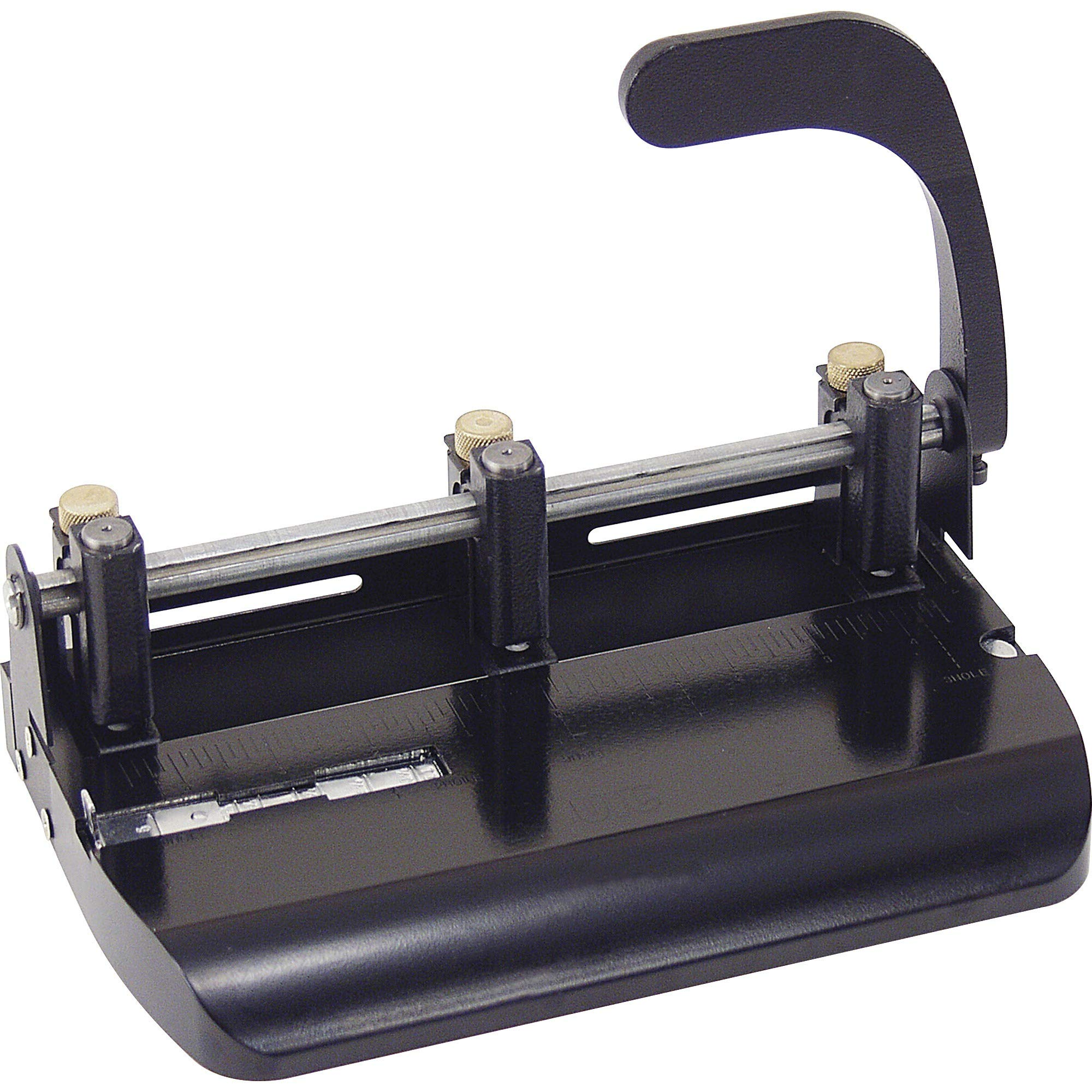 OIC90078 - Officemate OIC Heavy-Duty Adjustable Three-Hole Punch