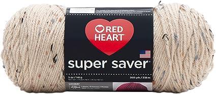 Red Heart E300.0334 Super Saver Yarn Buff