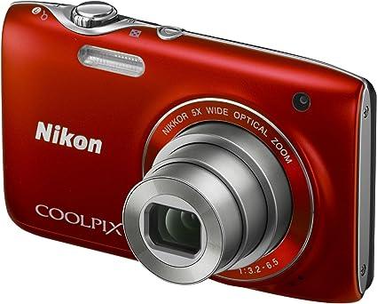 Nikon Coolpix S3100 Digitalkamera 2 7 Zoll Rot Kamera