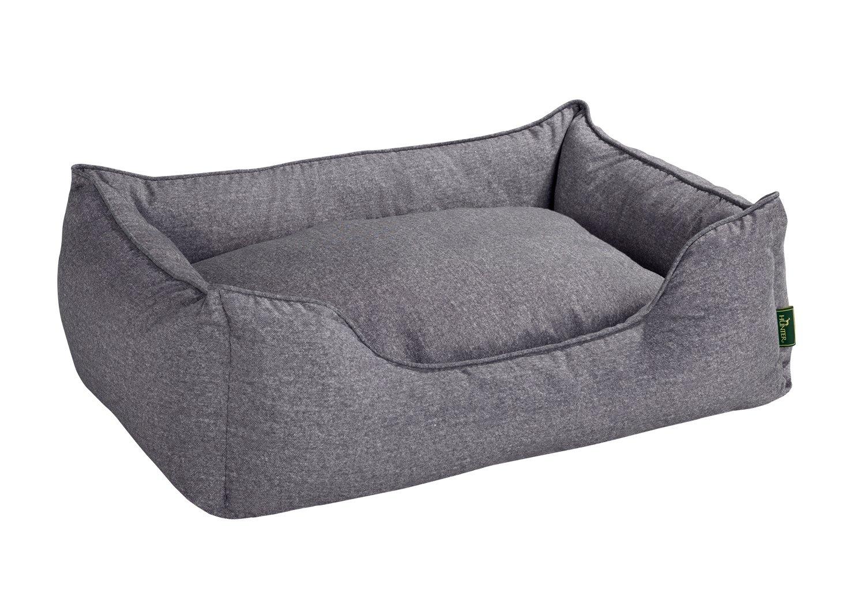 Hunter Boston 61429, Cama para perros, tamaño S (espacio exterior 60 x 50 x 20 cm/ interior cojín 52 x 42 cm), color gris: Amazon.es: Productos para ...