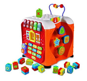 Vtech Alphabet Activity Cube French Version Educational