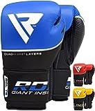 RDX Boxhandschuhe Ace Muay Thai Boxsack Sparring Kickboxen Training Sandsack Rindsleder Boxing Gloves