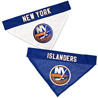 52fe4338989 Pet Supplies : NHL New York Islanders Bandana for Dogs & Cats, Large ...