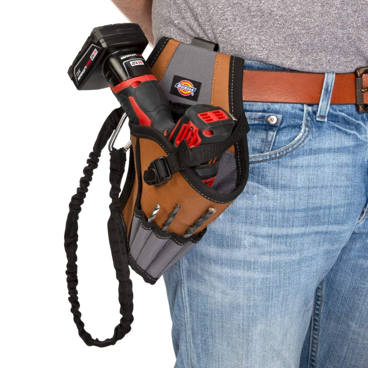 Dickies Work Gear 57097 5-Pocket Drill Holster with Safety Tether by Dickies Work Gear (Image #4)
