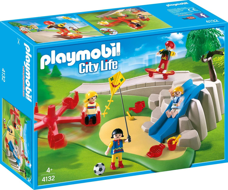 PLAYMOBIL 4132 SuperSet Patio de recreo