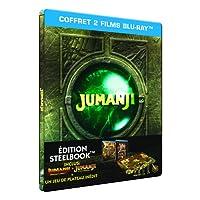 Jumanji : Bienvenue dans la jungle [SteelBook - Blu-ray + Jeu de plateau]