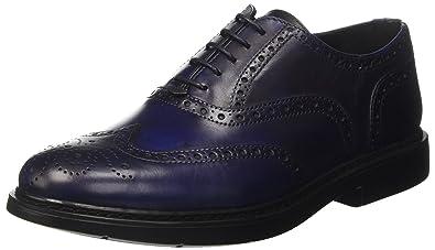 Docksteps Mens Brogues Blue Size  6.5 UK 35f747b1670