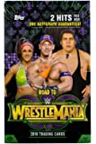 Topps Cards 2018 WWE Road to Wrestlemania Value Box | 10 Factory Sealed Packs, Multicolor