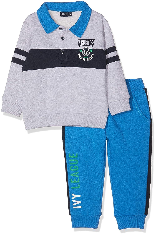 Brums Baby-Jungen Bekleidungsset Completo T-Shirt Bermuda 2er Pack
