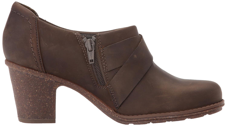 CLARKS Women's Sashlin Fiona Fashion Boot B06XCN1RMY 7 M US|Olive Leather