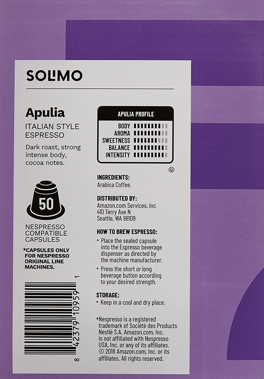 Solimo NA Pods: Amazon.com: Grocery & Gourmet Food